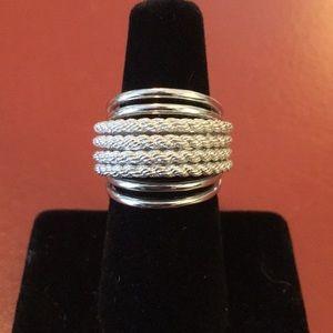Judith Ripka Sterling Silver Ring